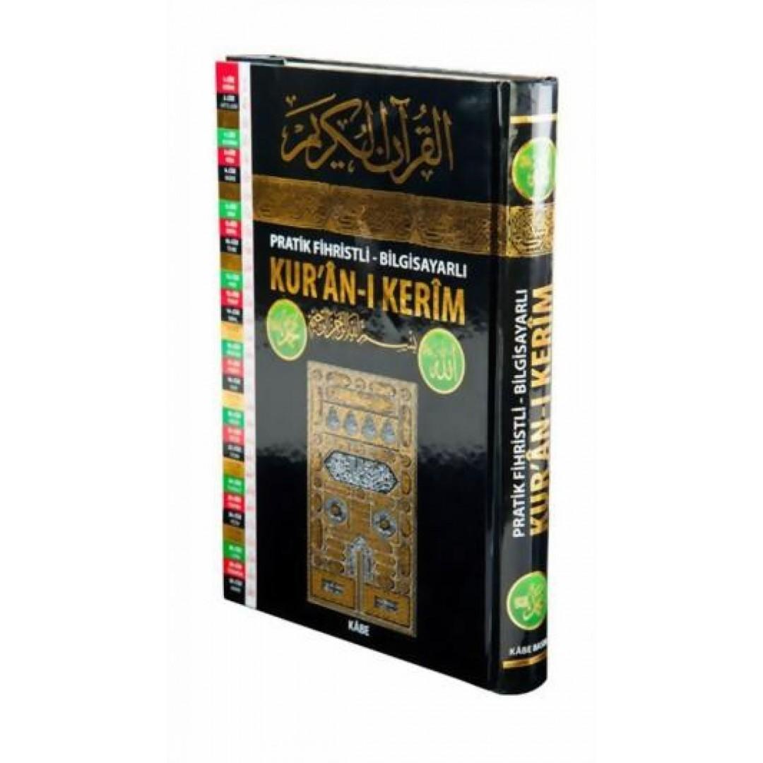 Al-Qur'an Al-Karim Kabe Mit Tastaturschrift 19 X 28 cm